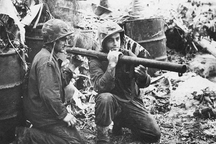 Penggunaan Bazooka ketika Perang Dunia II