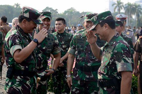 Purnawirawan Jadi Tersangka Makar dan, Panglima Tegaskan Soliditas TNI-Polri