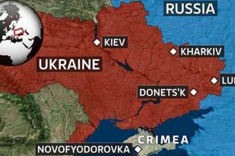 Peta Ukraina.