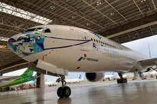 Tutup Kompetisi, Garuda Indonesia Perkenalkan Desain Masker Pesawat Keempat