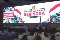 Gerindra Gelar Kongres, Kehadiran Jokowi-Megawati, hingga Usulan Prabowo Capres 2024