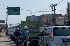 Proyek Pembangunan Flyover Simpang Gaplek Pamulang Sudah 20 Persen