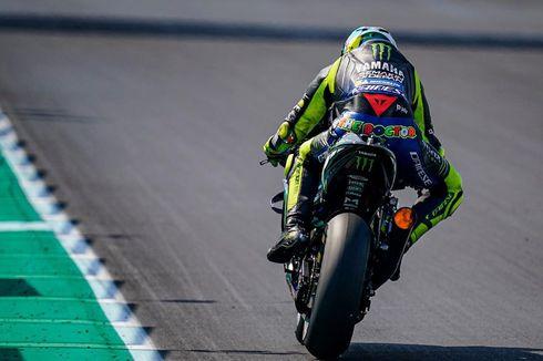 MotoGP Catalunya, Valentino Rossi Kaget dengan Kondisi Lintasan