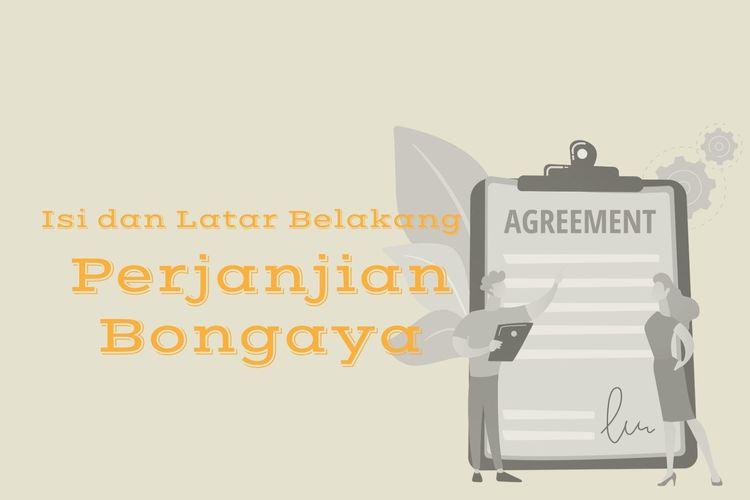 Ilustrasi isi perjanjian Bongaya