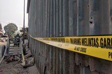 Tanpa Tunggu Aduan, Polisi Segel Industri Peleburan Aluminium di Cilincing yang Resahkan Warga