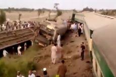 [UPDATE] Tabrakan Kereta Pakistan: 50 Orang Tewas dan 70 Lainnya Terluka