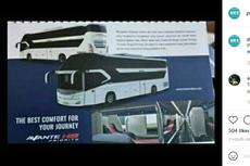Bocor, Desain Bus Kursi Selonjoran buatan Karoseri Tentrem