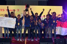 Mobil Rancangan Mahasiswa Indonesia Berjaya di Adu Irit Shell