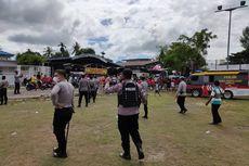 Turnamen Sepak Bola Dihadiri Ribuan Penonton di Sorong Dibubarkan Polisi