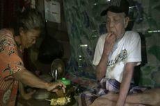 Syukur Kakek Ibrahim dan Istri meski Hanya Makan Buras dan Sambal Tomat pada Idul Adha