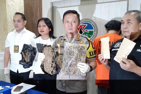 Polisi Tangkap Pengedar Narkoba serta Amankan 1 Kilogram Ganja