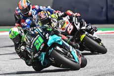 Hasil MotoGP Teruel 2020: Nakagami Jatuh, Morbidelli Juara, Duo Suzuki Podium