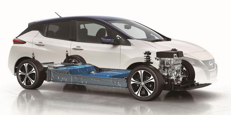 Nissan Leaf Jadi Mobil Listrik Terlaris