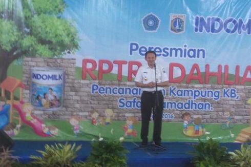 Ulang Tahun Jakarta, Ahok Ingin Bangun Rusun dan RPTRA Lebih Banyak Lagi