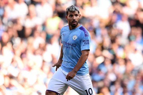 Man City Bakal Buat Patung Sergio Aguero di Stadion Etihad