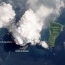 NASA Rilis Foto Tampak Dekat Erupsi Gunung Anak Krakatau
