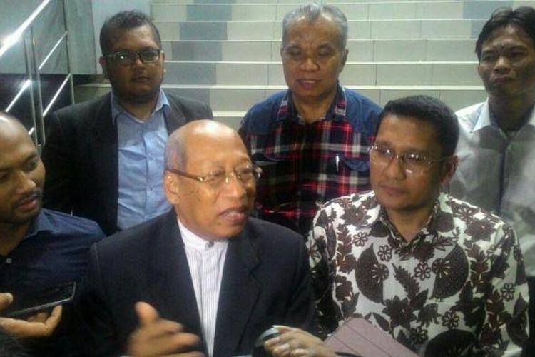 Tim kuasa hukum Basuki Tjahaja Purnama atau Ahok melaporkan Willyuddin Abdul Rasyid Dhani ke Polda Metro Jaya, Kamis (2/2/2017) malam.
