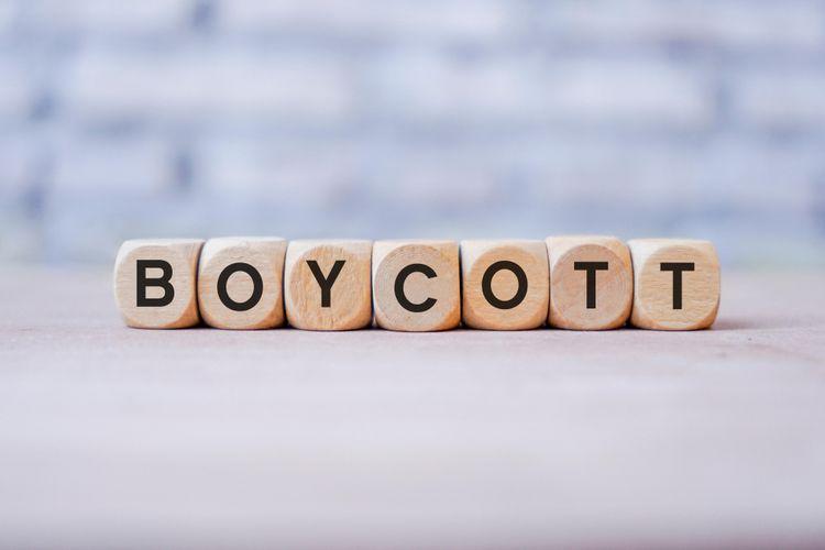 Ilustrasi boikot