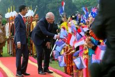 Presiden Jokowi Sajikan Pisang Goreng dan Wedang Jahe untuk PM Australia