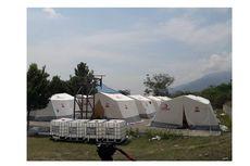 Swiss Bantu 300 Tenda untuk Korban Gempa Donggala, Ini Bentuknya..