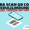 Lengkap, Ini Cara Scan QR Code PeduliLindungi di Aplikasi Lainnya