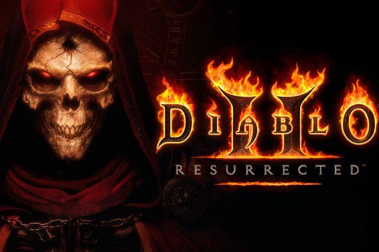 Ilustrasi game Diablo 2 Resurrected