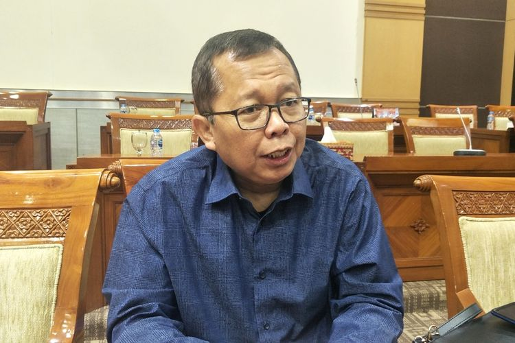 Anggota Komisi III sekaligus Tim Panja DPR Arsul Sani saat ditemui di Kompleks Parlemen, Senayan, Jakarta, Senin (2/9/2019).