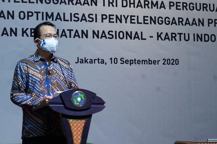 Sambutan BPJS Kesehatan untuk kerjasama mereka dengan UIN Syarif Hidayatullah