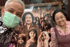 Ganjar Bertemu dengan Megawati di Jakarta Saat Tak Diundang ke Acara PDI-P Jateng