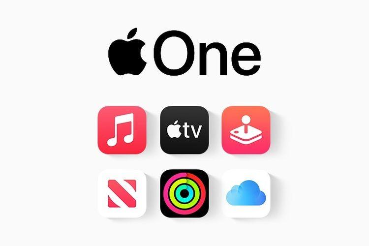 Ilustrasi layanan Apple One
