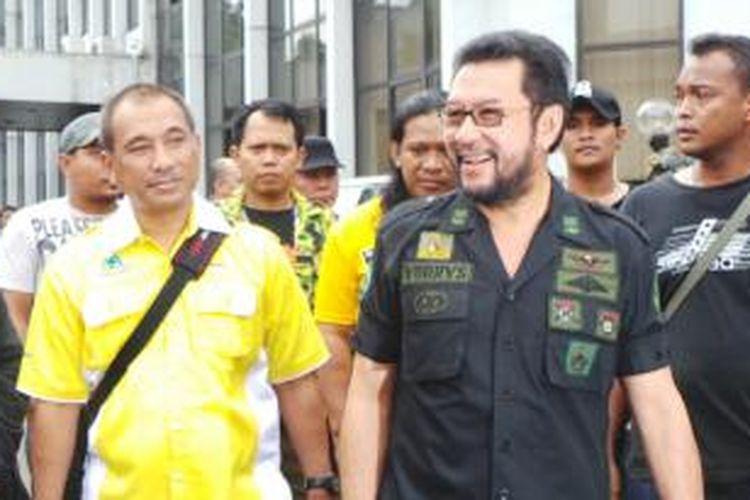 Politisi Golkar Yorrys Raweyai di Kantor DPP Golkar, Slipi, Jakarta Barat, Selasa (25/11/014) sore.