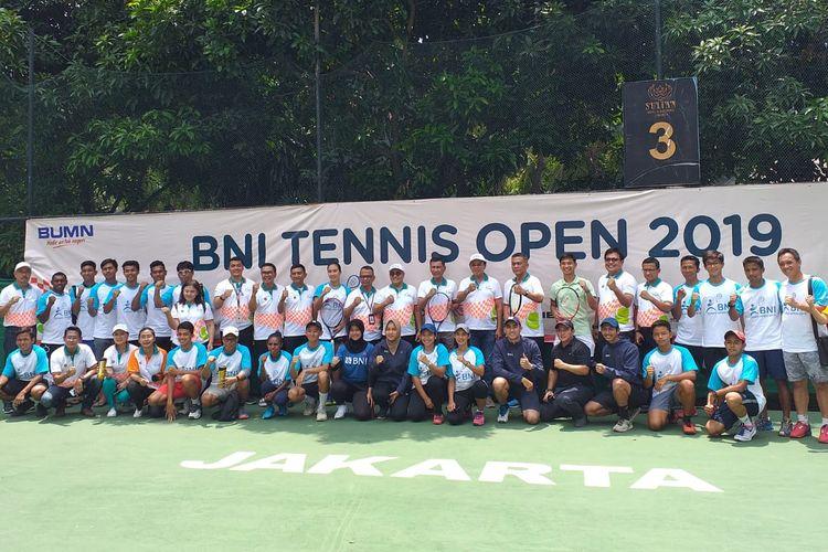 BNI Tennis Open 2019 akan diselenggarakan di lapangan tenis The Sultan Hotel Jakarta, pada 18-22 November 2019.