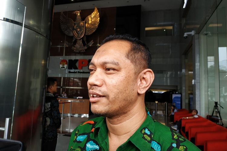 Wakil Ketua Komisi Pemberantasan Korupsi (KPK) Nurul Ghufron di Gedung Merah Putih KPK, Kuningan, Jakarta Pusat, Rabu (11/3/2020).