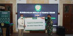 Bantu Warga Terdampak Covid-19, Tanoto Foundation Donasikan 300 Ton Beras di Jabar dan Jatim