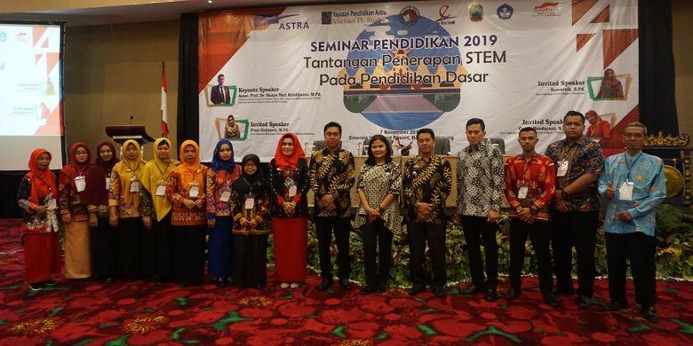 Seminar Daerah Karya Ilmiah Guru Binaan yang diadakan pada bulan November 2019 di seluruh wilayah binaan YPA-MDR yaitu Bogor, Gunungkidul, Bantul, Lampung Selatan, Pacitan dan Kupang.