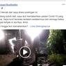 Viral, Video Bupati Sidoarjo Makamkan Korban Virus Corona Pagi Buta