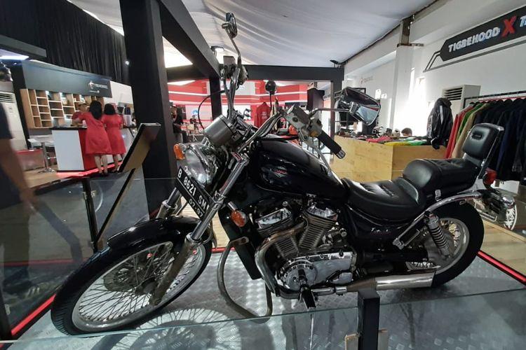 Suzuki Intruder VS400 milik mantan presiden Soeharto masih terawat hingga sekarang.