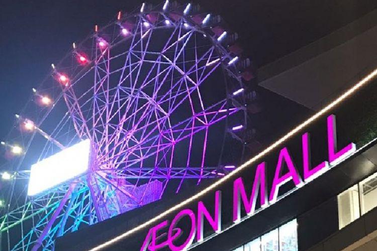 Sebuah bianglala atau kincir angin raksasa dirancang di rooftop Aeon Mall Jakarta Garden City, Jakarta Timur. Wahana hiburan ini terdiri dari 32 gondola berpendingin udara berkapasitas 6 orang per gondola yang terletak di rooftop.