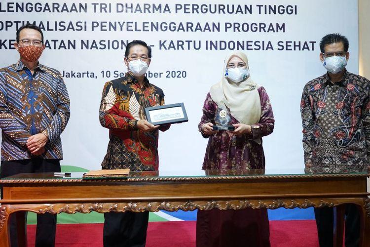 BPJS Kesehatan dan Universitas Islam Negeri (UIN) Syarif Hidayatullah bekerjasama dalam pengoptimalan Program JKN-KIS.