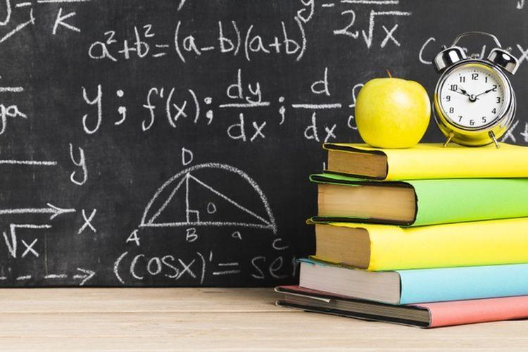 Ilustrasi pelajaran matematika.
