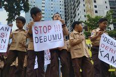 Aksi Protes Murid Sekolah terhadap Proyek Rusunami di Tangsel, Tunjukkan Kertas Orasi dan Gelar Doa Bersama