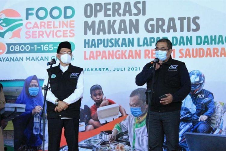 Layanan FCS akan berikan makanan gratis kepada masyarakat.