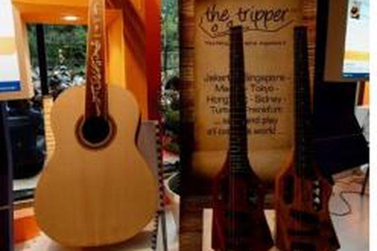 Gitar produksi Stranough Guitar Technology di Bandung