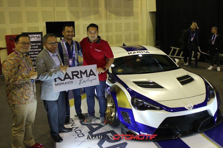Peluncuran body kit Toyota 86 Karma di IMX 2018