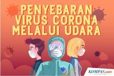 INFOGRAFIK: Penyebaran Virus Corona Melalui Udara