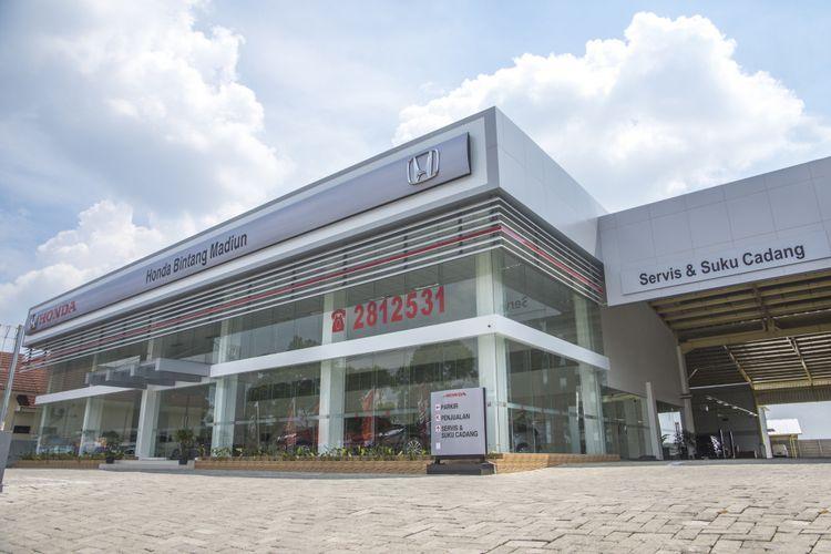 Dealer Honda pertama di Madiun.