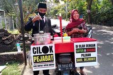 Cerita Lutfi, Jual Cilok Pakai Jas dan Dasi, Pembeli Ajak Berfoto hingga Omzet Meningkat