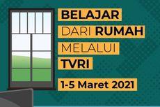 Jadwal TVRI Belajar dari Rumah, Rabu 3 Maret 2021