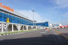 Landas Pacu Bandara Lombok Praya Diperpanjang