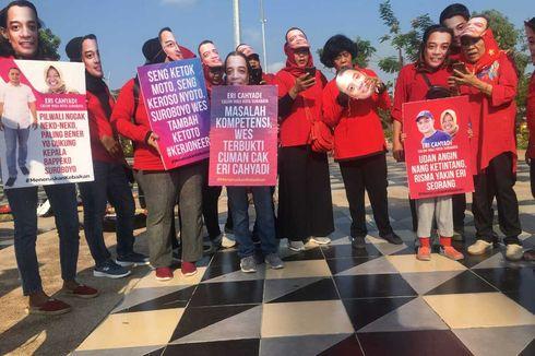 Sejumlah Warga Minta Risma Rekomendasikan Eri Cahyadi untuk Pilkada Surabaya
